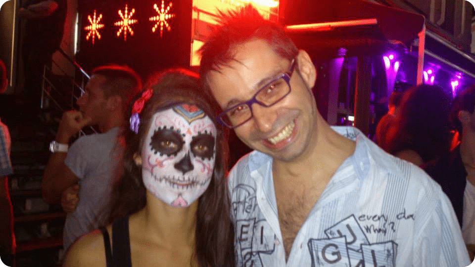 Ruben Lara Halloween en Malta