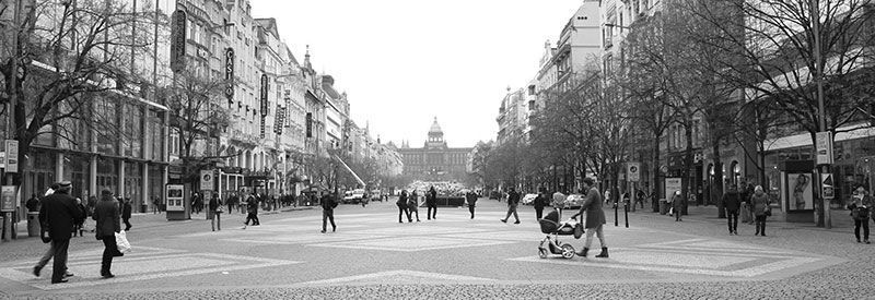 Plaza de Wenceslao Praga