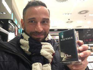 Ruben Lara Sauvage de Dior